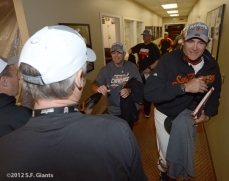 sf gaints, san francisoc giants, photo, september 22, 2012, nl west champtions, clinch the west, dave righetti