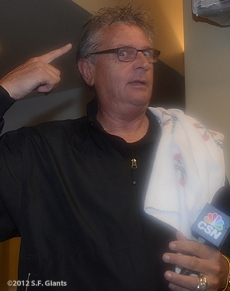 sf giants, san francisco giants, photo, 2012, september 22, giants clinch the west, duane kuiper