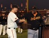 sf giants, san francisco giants, willie mac award, photo, group, willie mccovey, 2009, Matt Cain