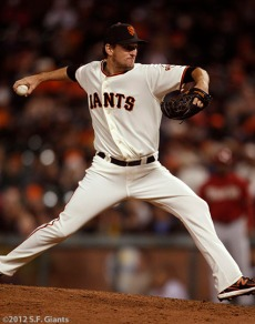 San Francisco Giants, S.F. Giants, photo, 2012, Dan Otero