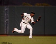 San Francisco Giants, S.F. Giants, photo, 2012, Francisco Peguero