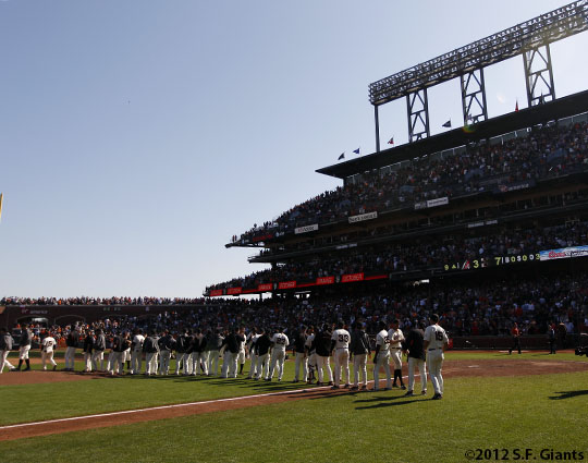 San Francisco Giants, S.F. Giants, photo, Team