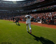 San Francisco Giants, S.F. Giants, photo, Angel Pagan