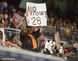 sf giants, san francisco giants, 9/28, 2012, photo, fan, buster posey