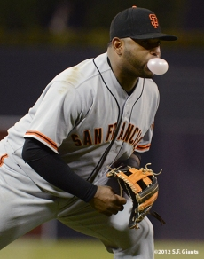 sf giants, san francisco giants, photo, september 28, 2012, san diego, pablo sandoval