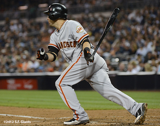 sf giants, san francisco giants, 9/28, 2012, photo, marco scutaro