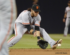sf giants, san francisco giants, photo, september 28, 2012, san diego, brandon crawford