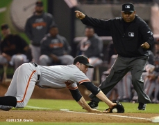 sf giants, san francisco giants, photo, september 28, 2012, san diego, brandon belt