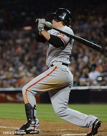 sf giants, san francisco giants, photo, september 28, 2012, san diego, ryan theriot