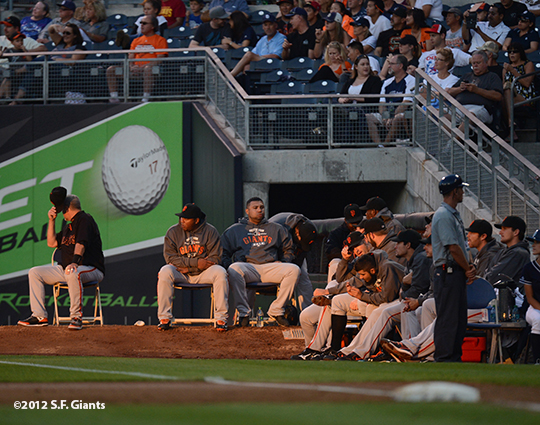 sf giants, san francisco giants, photo, 9/29, 2012, bullpen