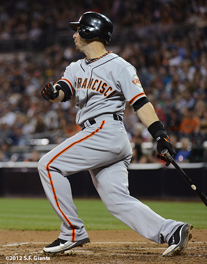 sf giants, san francisco giants, photo, 9/29, 2012, marco scutaro