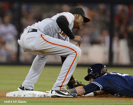 sf giants, san francisco giants, photo, 9/29, 2012, joaquin arias