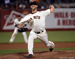 San Francisco Giants, S.F. Giants, photo, 2012, Madison Bumgarner