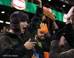 sf giants, san francisoc giants, photo, 2012, fans