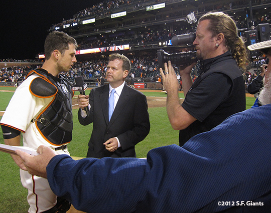 sf giants, san francisc giants, photo, 2012, buster posey, espn