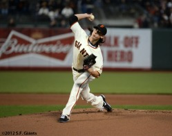 San Francisco Giants, S.F. Giants, photo, 2012, Tim Lincecum