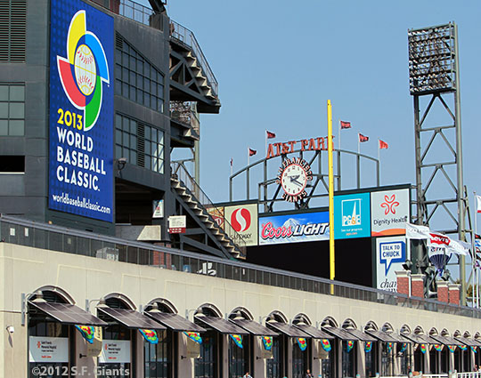 San Francisco Giants, S.F. Giants, photo, 2012, World Baseball Classic