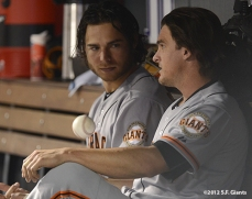 sf giants, san francisco giants, photo, 2012, brandon crawford, ryan theriot