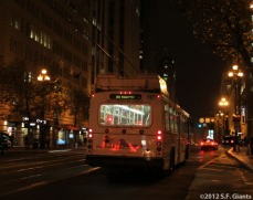 San Francisco Giants, S.F. Giants, photo, 2012, Postseason, Muni