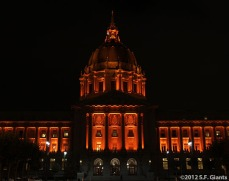 San Francisco Giants, S.F. Giants, photo, 2012, Postseason, City Hall