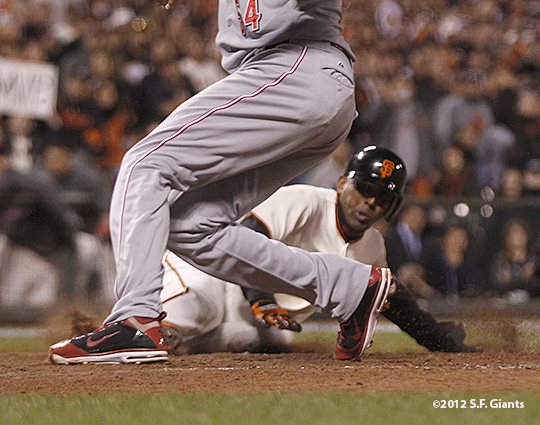 sf giants, san francisco giants, photo, 2012, nlds, joaquin arias