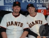 San Francisco Giants, S.F. Giants, photo, 2012, Postseason, Aubrey Huff and Freddy Sanchez