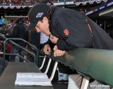 San Francisco Giants, S.F. Giants, photo, 2012, Postseason, Ryan Theriot