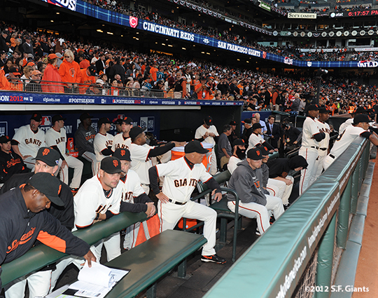 San Francisco Giants, S.F. Giants, photo, 2012, Postseason, Team
