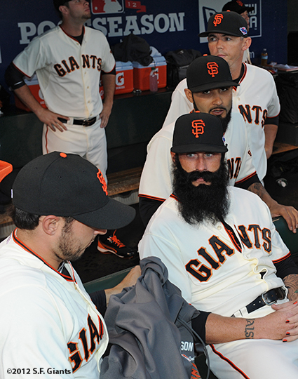 San Francisco Giants, S.F. Giants, photo, 2012, Postseason, Brian Wilson