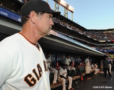 San Francisco Giants, S.F. Giants, photo, 2012, Postseason, Bruce Bochy