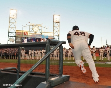San Francisco Giants, S.F. Giants, photo, 2012, Postseason, Pablo Sandoval