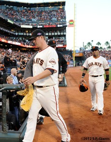 San Francisco Giants, S.F. Giants, photo, 2012, National League Division Series, Matt Cain