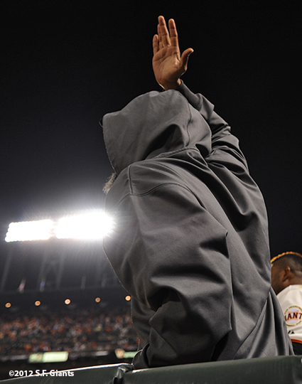 San Francisco Giants, S.F. Giants, photo, 2012, Postseason, Sergio Romo