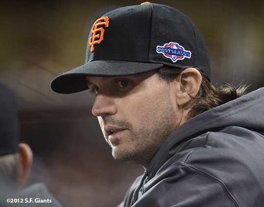 San Francisco Giants, S.F. Giants, photo, 2012, Postseason, Barry Zito