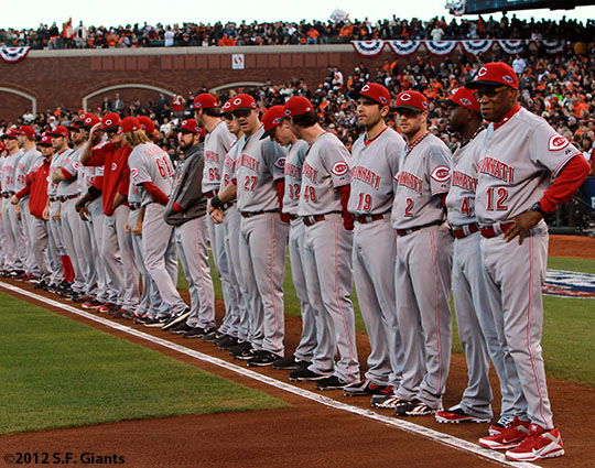 San Francisco Giants, S.F. Giants, photo, 2012, National League Division Series, Dusty Baker