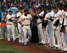 San Francisco Giants, S.F. Giants, photo, 2012, National League Division Series, Santiago Casilla