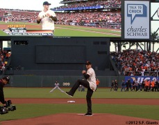 San Francisco Giants, S.F. Giants, photo, 2012, National League Division Series, Alex Smith