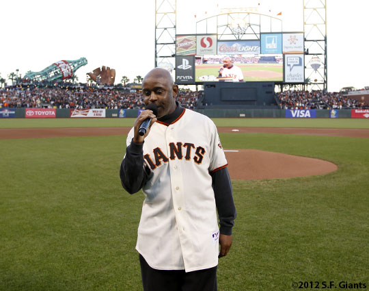 San Francisco Giants, S.F. Giants, photo, 2012, Postseason, Tony Lindsay