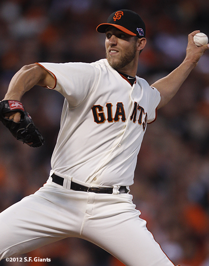 sf gaints, san francisoc giants, photo, 2012, nlds game 2, 10/7/2012, madison bumgarner