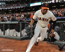San Francisco Giants, S.F. Giants, photo, 2012, Postseason, Gregor Blanco