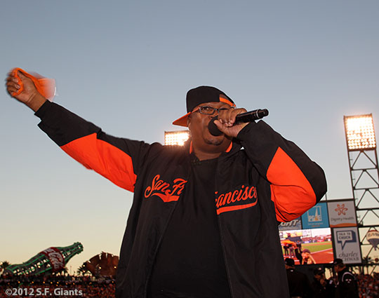 San Francisco Giants, S.F. Giants, photo, 2012, Postseason, E-40