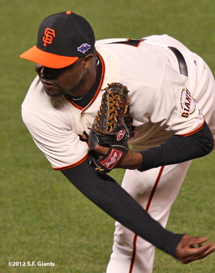 sf gaints, san francisoc giants, photo, 2012, nlds game 2, 10/7/2012, guillermo mota