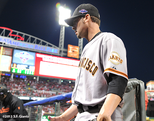 sf giants, san francisco giants, photo, nlds, 2012, ryan vogelsong