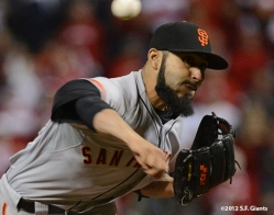 sf giants, san francisco giants, photo, 10/09/2012, nlds game 3, sergio romo
