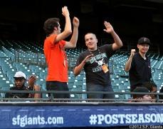 San Francisco Giants, S.F. Giants, photo, 2012, Postseason, Front Office