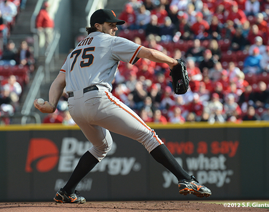 sf giants, san francisco giants, photo, 10/10/2012, nlds game 4, barry zito