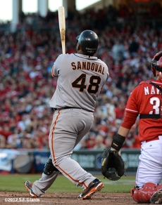 sf giants, san francisco giants, photo, 10/10/2012, nlds game 4, pablo sandoval