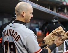 sf giants, san francisco giants, photo, 10/10/2012, nlds game 4, marco scutaro