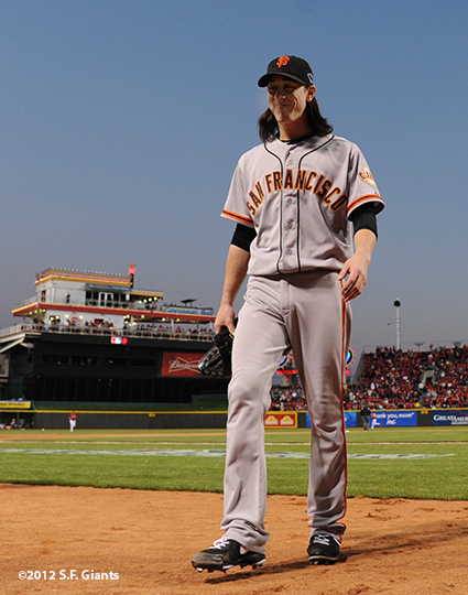 sf giants, san francisco giants, photo, 10/10/2012, nlds game 4, tim lincecum
