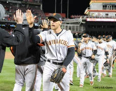 sf giants, san francisco giants, photo, 10/10/2012, nlds game 4, team